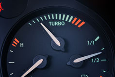 Turbo boost indicator Royalty Free Stock Images