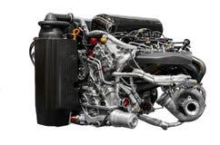 Turbo car engine Stock Image