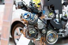 Turbo car engine Stock Photo