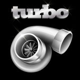 Turbo Compressor for an Automobile. (EPS10 Stock Photography