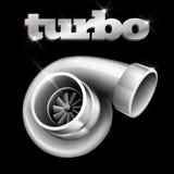 Turbo Compressor voor een Auto royalty-vrije illustratie
