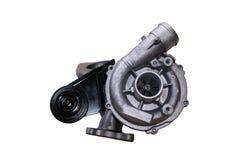 Turbo diesel d'isolement Photos libres de droits