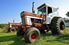 Turbo 1466 Farmall tractor Stock Image
