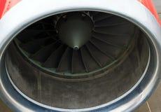 Turbo-jet engine of the plane Royalty Free Stock Photo