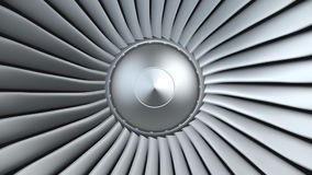 Turbo jet engine stock video
