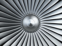 Turbo jet engine Royalty Free Stock Image