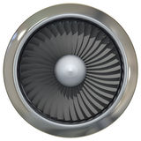 Turbo jet engine Royalty Free Stock Photo