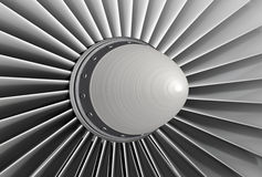 Turbo jet engine Stock Images