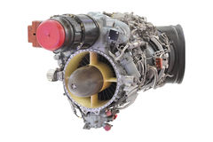 Turbo jet engine Royalty Free Stock Photos