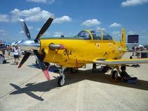 turbo podpierający kolor żółty zdjęcia stock
