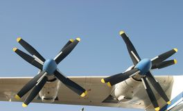 Turbo propellers Stock Photos