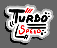 Turbo speed Stock Images
