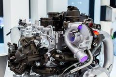 Turbocharged Engine Royalty Free Stock Photography