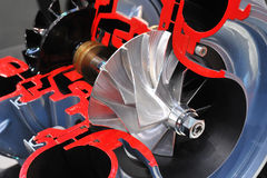 Turbocharger Royalty Free Stock Photos