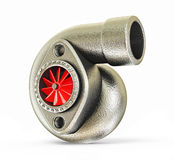 Turbocharger Stock Photo