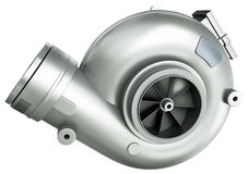Turbocharger Imagens de Stock Royalty Free