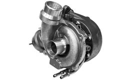 turbocharger Stockfotos