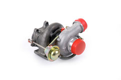 turbocharger stockbild