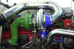 turbocharger Fotografie Stock