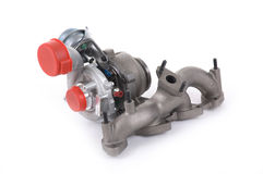 Turbocharger Stock Images