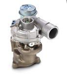 turbocharger Turbine für Auto stockfotografie