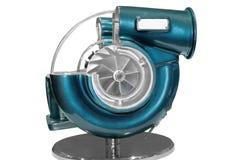 Turbocompresor Imagen de archivo libre de regalías