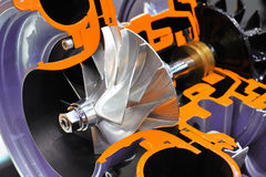Turbocompresseur photographie stock