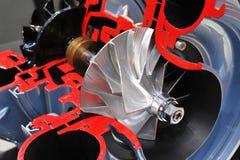 Turbocompressor royalty-vrije stock foto's