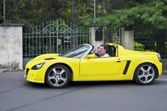Turbocompressor de Opel Speedster imagens de stock royalty free