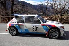 Turbocompressor 16 de Peugeot 205 foto de stock