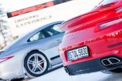 TURBOCOMPRESSOR DE PORSCHE 911 imagens de stock royalty free