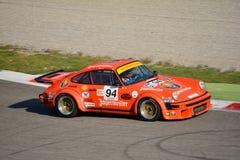 Turbocompressor 1976 de Porsche 934 RSR em Monza Imagens de Stock