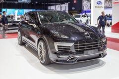 Turbocompressor 2015 de TechArt Porsche Cayenne Imagens de Stock Royalty Free