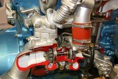 Turbocompressordwarsdoorsnede Stock Fotografie