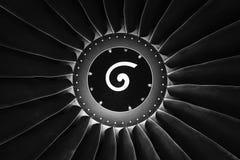 Turbofan dżetowy silnik Fotografia Royalty Free