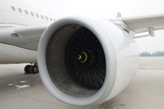 Turbofan engine Stock Images
