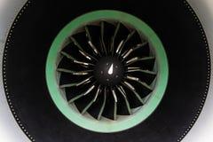 The turbofan jet engine. Stock Photography