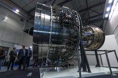 Turbofan jet engines Rolls-Royce Trent XWB Stock Photography
