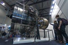 Turbofan jet engines Rolls-Royce Trent XWB Stock Photos