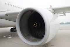 Turbofan-Triebwerk Stockbilder