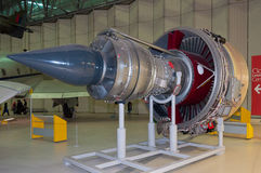 Turbofan-Triebwerk Rolls-Royce Trents 800, IWM Duxford stockfotos