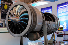 Turbofan on 2013 WCIF Stock Image
