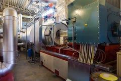 Turbogenerador eléctrico Imágenes de archivo libres de regalías