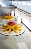 Turbogeneradores del agua Fotografía de archivo libre de regalías