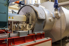 Turbogenerator Foto de Stock