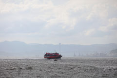 TurboJET provides services  hk to  Macau Stock Image