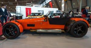 Turboladdare för sportbilIrmscher roadster, 2011 Royaltyfria Bilder