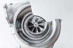 Turboladerentwurf mit Querschnitt Stockfoto