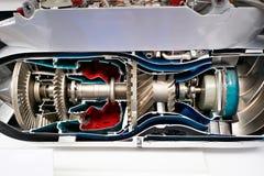 Turbomotor für taktische Raketen der Luftfahrt lizenzfreie stockfotografie