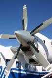 turboprop двигателя Стоковые Фотографии RF